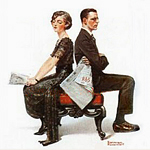 Norman Rockwell's 'The Debate'