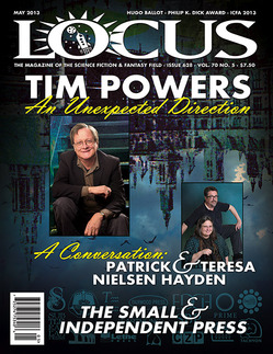 Cover of the May 2013 issue of LOCUS